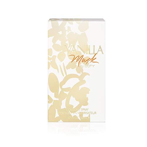 Coty Vanilla Musk For Women. Cologne Spray 1.7 Oz.