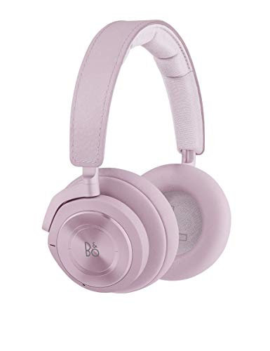 Bang & Olufsen Beoplay H9 3RD Gen Wireless Bluetooth Over-Ear Headphones – Active Noise Cancellation, Transparency Mode, Voice Assistant and Mic, Peony