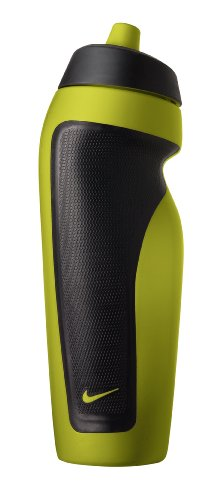 Nike Sport Water Bottle with Hang Tag, Atomic Green/Black, 20-Ounce