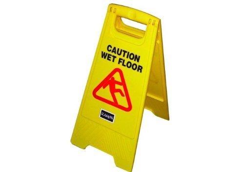 Ramon - Cartel de suelo mojado con texto en inglés: Amazon ...
