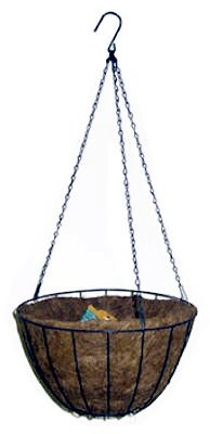 Basket,Hanging,12'' Coco Fiber by Panacea Products