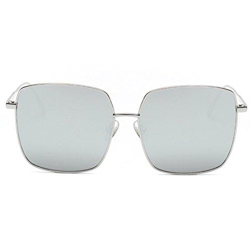 Sunglasses,✿MOSE❤Men Womens Unisex Fashion Chic Square Frame Shades Acetate Frame UV Eyewear Big Square Beauty Sunglasses New (C)