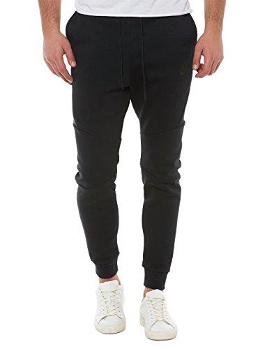 Nike Mens Sportswear Tech Fleece Jogger Sweatpants Black/Black 805162-010 Size Medium