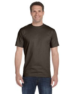 Dark Chocolate Adult (Hanes Beefy-T Adult Short-Sleeve T-Shirt (Dark Chocolate, 2XL))