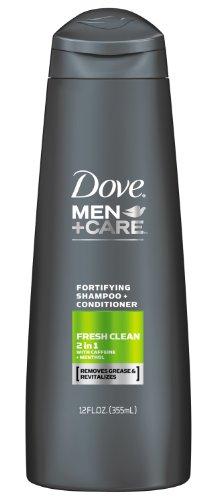 Dove Men + Care fraîche et propre 2 en 1 Shampooing Conditioner + 12 once
