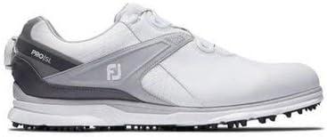 [フットジョイ] ゴルフシューズ Pro/SL Boa #53817 White/Grey [並行輸入品]