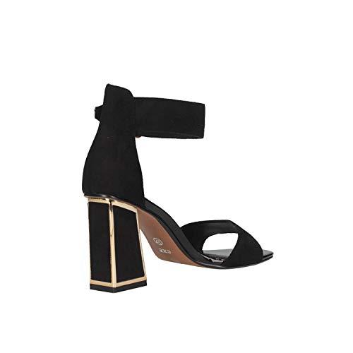 Gold Lucia Oro Black 150 Donna Nero Exe' Sandalo Eruuyqzwx POikXZuT