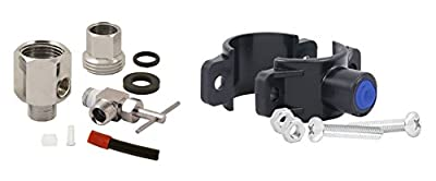 APEC Water Systems Replacement Feed Water Adapter & Drain Saddle Valve For Undersink System (MOVEKIT)