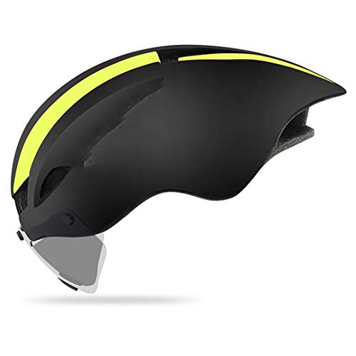 SDSVFG Bike Pneumatic Mountain Racing Riding Men in-Molded ty MTB Bicycle Cycling Helmet 56-61 cm D