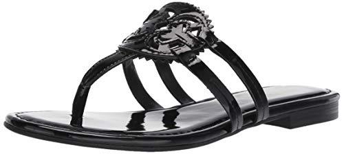 - Circus by Sam Edelman Women's Canyon Flat Sandal Black Patent 5 M US