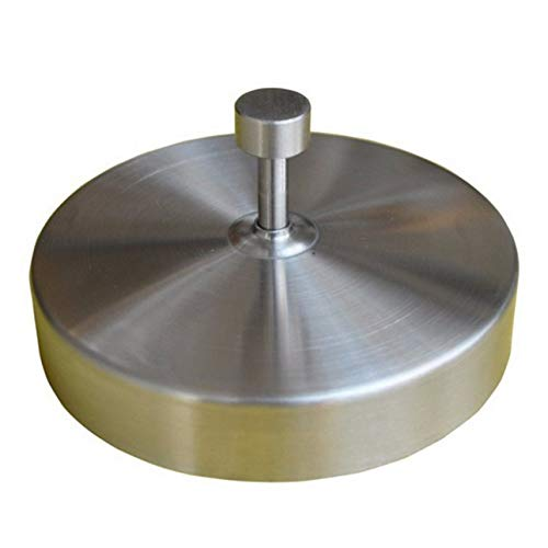 Liobaba Stainless Steel Hamburger Meat Beef Grill Burger Press Patty Maker Mold ()