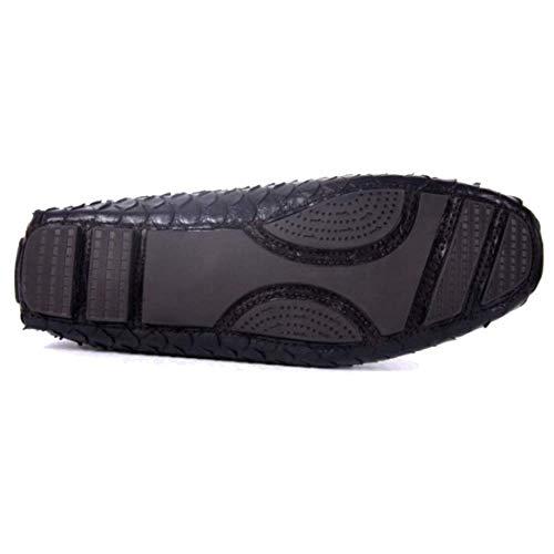 Mano in da Alta di Pigro Black Gamma Pelle A Casual Uomo Personalizzate Scarpe Scarpe Confortevoli Fatte Pd78xER8wq
