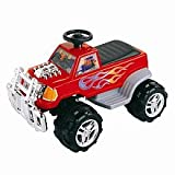 New Star Monster Power Wheels Vehicle in Red