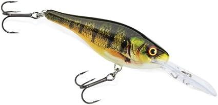7//16 oz Live Yellow Perch Rapala SRRS07YPL Shad Rap RS Fishing Lure 2-3//4