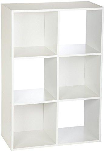 ClosetMaid 8996 Cubeicals 6-Cube Organizer, White, 2-Pack (Closetmaid 8996 Cubeicals Organizer 6 Cube White)
