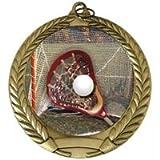 Engraved Lacrosse Medals Award 3-Pack