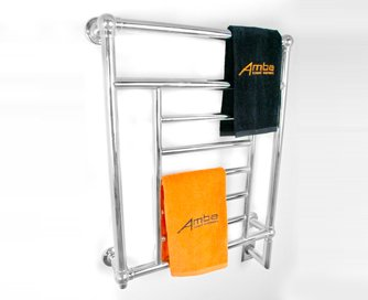 Amba T-2536 Traditional Collection Towel Warmer, Polished Nickel 25
