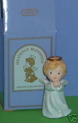Avon Heavenly Blessings Nativity Collection Angel 1986