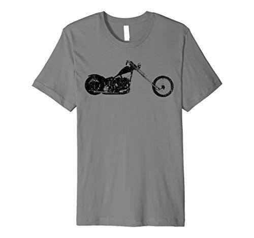 - Vintage Classic Motorcycle Chopper Biker T-Shirt