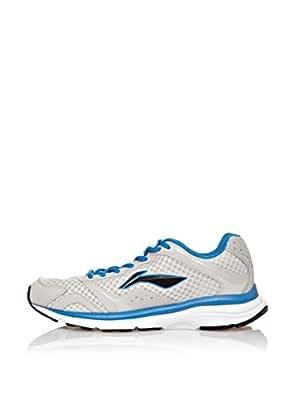 Li-Ning Zapatillas Running Tracer Gris/Azul EU 42 (US 8.5): Amazon.es: Zapatos y complementos
