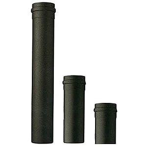 Tubo stufa a pellet acciaio SAVE mm 80 cm 25 50 100 curva 45° 90° T rosone condensa (Tubo 100 cm mm 80) 31PVSWSvOFL. SS300