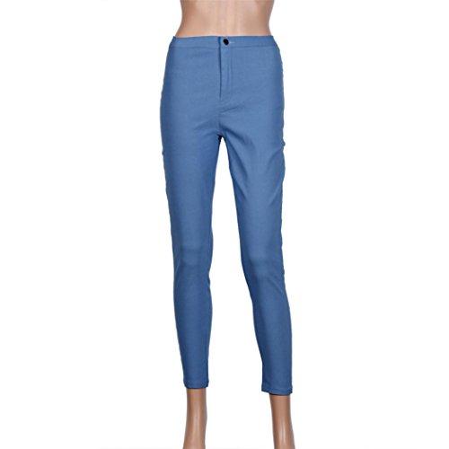 Jeans Damen Blu Hosen Donna SANFASHION naz8PqSw