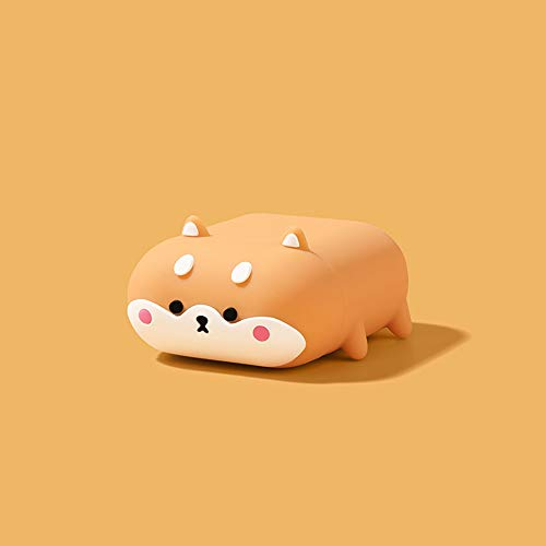 Compatible with Airpods Case, Silicone 3D Cute Animal Shiba Inu Fun Cartoon Character Airpod Cover, Kawaii Funny Fashion…