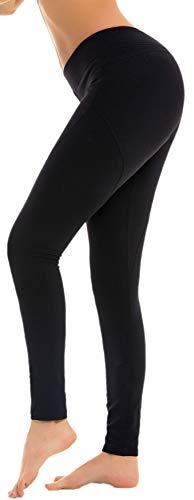 RUNNING GIRL Butt Lift Leggings Scrunch Butt Push Up Leggings Yoga Pants for Women Shapewear Skinny Workout Tights (Black