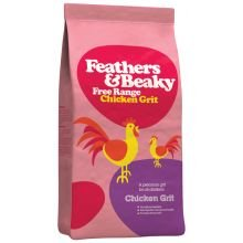 Feathers & Beaky Free Range Chicken Grit, 5kg by Spikes