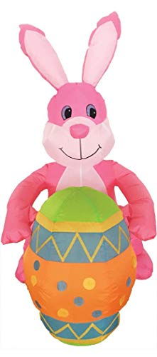 Morris Inflatable Bunny with Egg Decoration - Morris Spring Costume