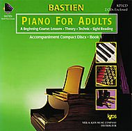 Bastien Piano For Adults - Book 1 (CD Only)