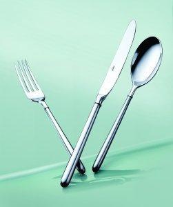Cubiertos - Elia - Maypole 18/10 - Precio por docena de cubiertos cuchillo de postre: Amazon.es: Jardín