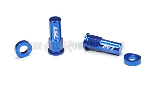 Blue Rim Lock Spacer Nut Kit CR YZ KX RM CRF YZF KXF RMZ 85 125 250 450