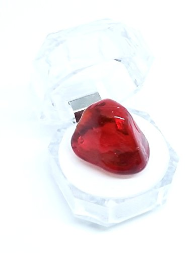 Harry Potter Sorcerer's Stone Red Glass in Plastic Case ()