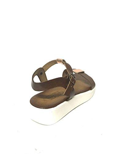 Sandales pour Divine Bianco femme Follie vUTx1B