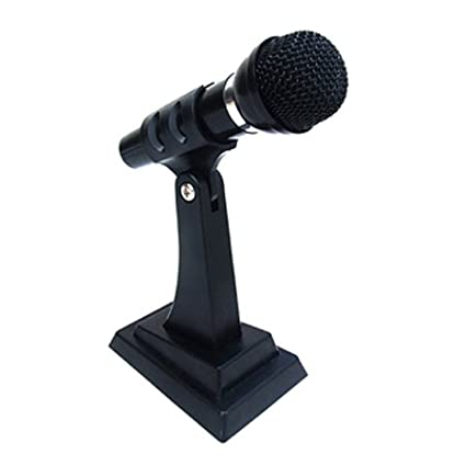 Frisby Stand Alone Microphone for PC Computer Laptop Notebook, VOIP, w/noise canceling 6432146