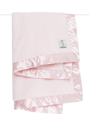 Pink Luxury Baby Blanket - Little Giraffe Chenille Stroller Baby Blanket, Pink, 29