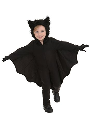 Toddler Fleece Bat Costume 18 (Toddler Bat Costumes)