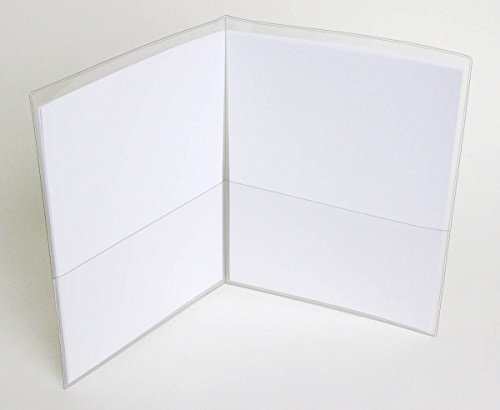 """UPC 825041022220, StoreSMART - Clear Vinyl Plastic Letter Size Folder with 2 pockets - 25-Pack - 9.5"""" x 11.75"""" - R935-STC-25"""