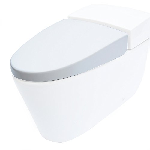 Eago R R-340SEAT Replacement Soft Closing Toilet Seat for...