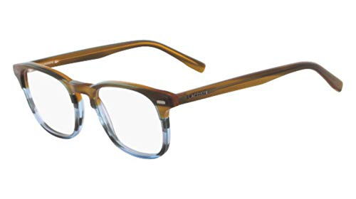- Eyeglasses LACOSTE L 2832 215 STRIPED BROWN/BLUE