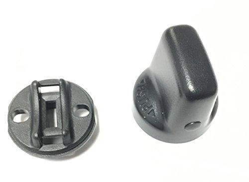Mitsubishi Oe Genuine Parts (Genuine Mitsubishi OE Keyless Ignition Start Knob Handle & Insert 4408A031 4408A167 Outlander 2007 2008 2009 2010 2011 2012 2013)