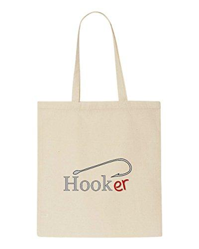 Fisherman Gift Bag Tote Fishing Funny Hooker Parody Shopper Hobby Valentine Sublimation TxZAcwqS