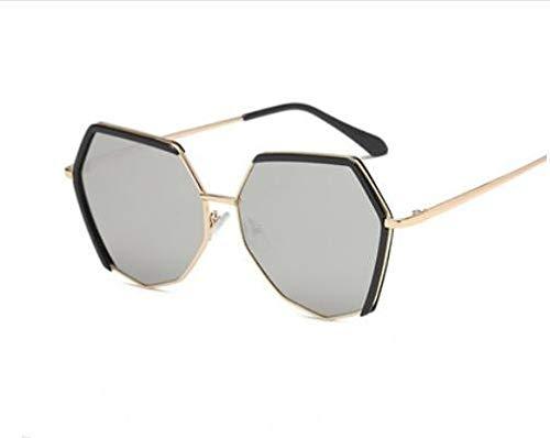 Ultra Nueva Sol Mujeres Gran Gafas H Poligonal de Lente KOMNY de Ligero tamaño y Moda polarizada E Gafas TR90 para Moda Hombre FpTxwdqCq