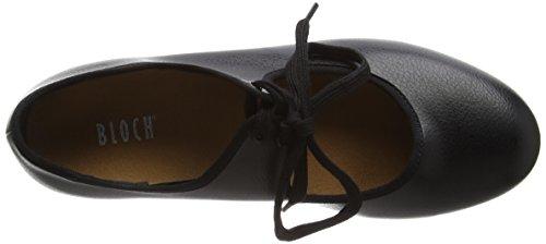 Bloch Timestep, Chaussures de Claquettes fille - Noir (Black), 35 EU