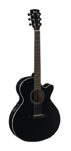 Cort SFX1F-TWB Thru Wine Burst SFX Series Acoustic Guitar