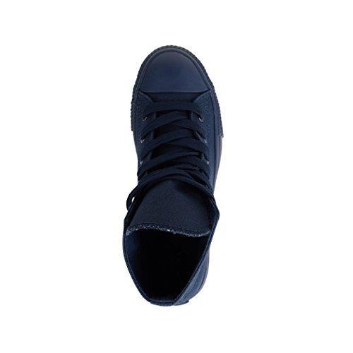 Per Scarpe Uomo Sneaker Unisex Sneakers nbsp; Scarpe Sport High Top Tessile Donna Elara 36 wPqIRTx