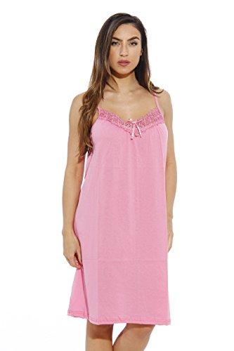 1524C-L Pink Dreamcrest Nightgown / Womans Pajamas / Women Sleepwear
