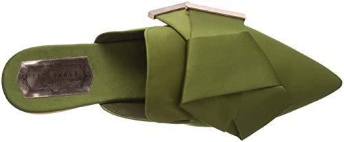 Baker Ted Wrena Vert Femme Mules Green Grn zqrvdqwx
