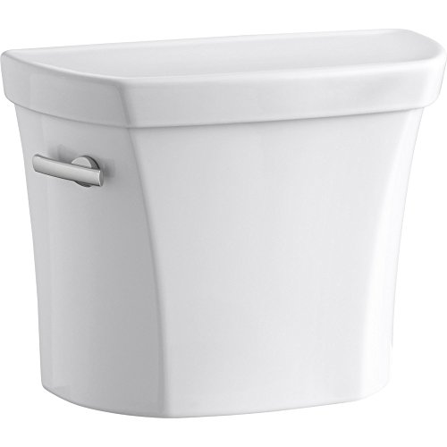Wellworth 1.0 GPF Toilet Tank with Left-Hand Trip Lever, White by Kohler